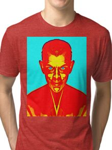Boris Karloff, alias in The Black Cat Tri-blend T-Shirt