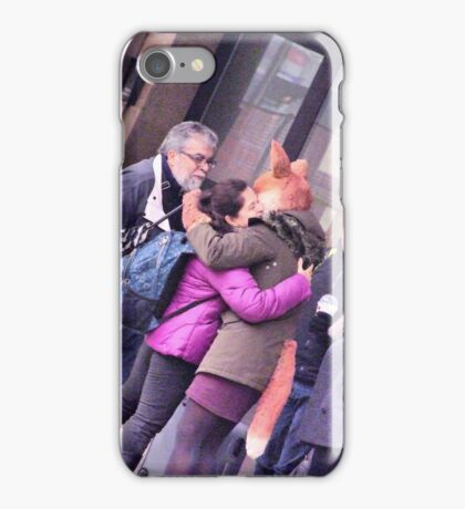 the fox lady in the station (embrace) iPhone Case/Skin