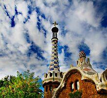 Gingerbread House Barcelona by Angelika  Vogel