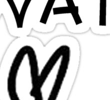 Lovatic Sticker