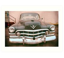 Black Cadillac Art Print