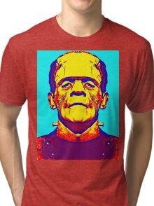 Boris Karloff, alias in The Bride of Frankenstein Tri-blend T-Shirt