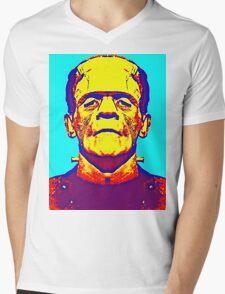 Boris Karloff, alias in The Bride of Frankenstein Mens V-Neck T-Shirt