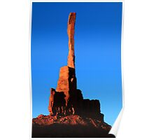 The Totem Pole, Monument Valley, Arizona Poster