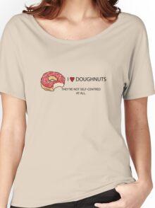 I Love Doughnuts  Women's Relaxed Fit T-Shirt