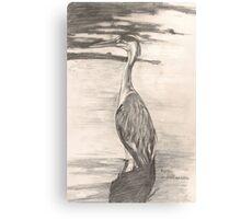 Heron Canvas Print