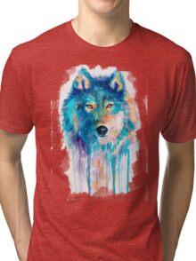 Wolf Tri-blend T-Shirt