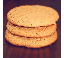 Peanut Butter Cookies Photographic Print