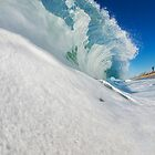 Carlsbad Shore Break by Flux Photography