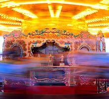 Merry-Go-Round, Brighton Pier by rsangsterkelly