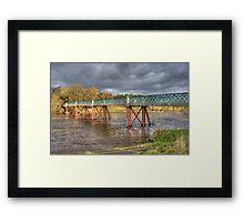 Denny Beck Bridge Framed Print