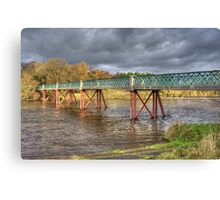 Denny Beck Bridge Canvas Print