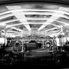 Merry-Go-Round, Brighton Pier B&W by rsangsterkelly