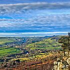 Looking out over Curbar Edge by pixog