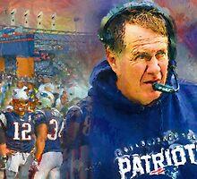 Legend Bill Belichick New England Patriots by John Farr
