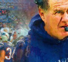 Legend Bill Belichick New England Patriots Sticker