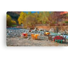 Table by the River Canvas Print