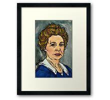 Isobel Crawley Framed Print