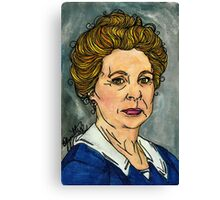 Isobel Crawley Canvas Print