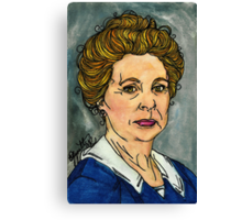 Isobel Crawley Canvas Print
