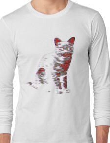 Psychedelic Feline Long Sleeve T-Shirt