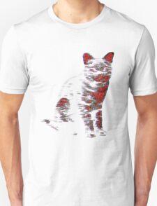 Psychedelic Feline Unisex T-Shirt