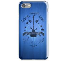 Rock Never Dies - For Music Fans iPhone Case/Skin