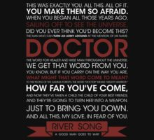 Doctor Who - River Song - A good man goes to war (2) by glassCurtain