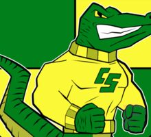 CAPTAIN SHREVE GATORS 1981 Sticker