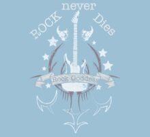 Rock Never Dies - For Music Fans Kids Clothes