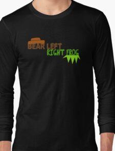 Bear Left Right Frog Long Sleeve T-Shirt