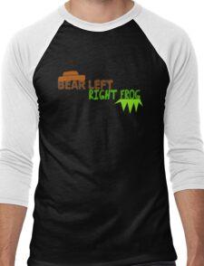Bear Left Right Frog Men's Baseball ¾ T-Shirt