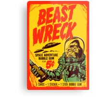 BEASTWRECK ATTACKS Metal Print