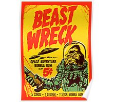 BEASTWRECK ATTACKS Poster