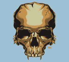 Golden Skull Kids Clothes