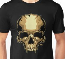 Golden Skull Unisex T-Shirt