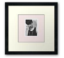 jaebum pastel phone case pic1 Framed Print