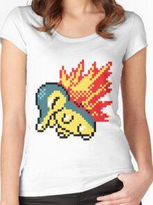 Pokemon - Cyndaquil Sprite Women's Fitted Scoop T-Shirt