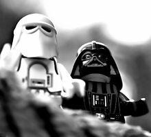 Lego looking out by Stephen Ignacio