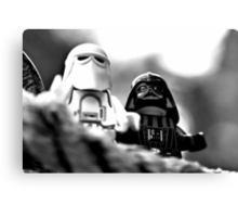 Lego looking out Canvas Print