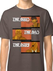 The Good, The Bad and The Boss - A Metal Gear Movie Classic T-Shirt