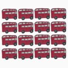 Double Decker Buses by Crystal Friedman