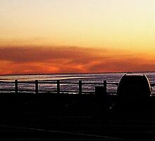 Redondo and Torrance Beach at Dusk by Matthew Nickle