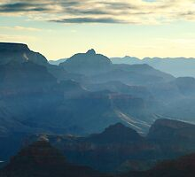 Blue Canyon by Roupen  Baker