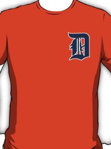Detroit - D with AK Design T-Shirt