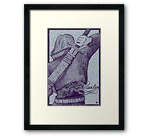 Trunks: The Time Traveler Framed Print