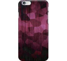 Dark Pink Spots iPhone Case/Skin