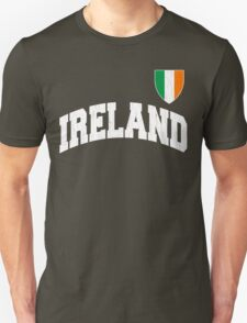 Classic IRELAND Football Jersey (Vintage Distressed) T-Shirt