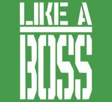 Like A Boss - Super Swag Kids Tee