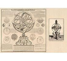 Celestial Sphere 1716 Photographic Print